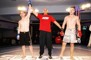 Head Coach Nick Hughes  Victory via Triangle Choke Superfight Australia 2012