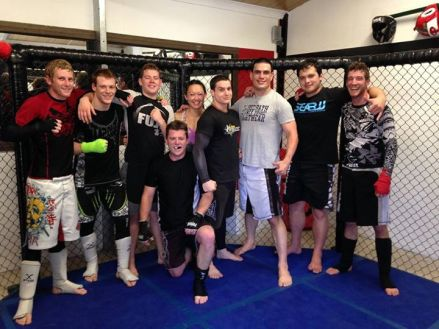 Cage Training 4th Oct 2014